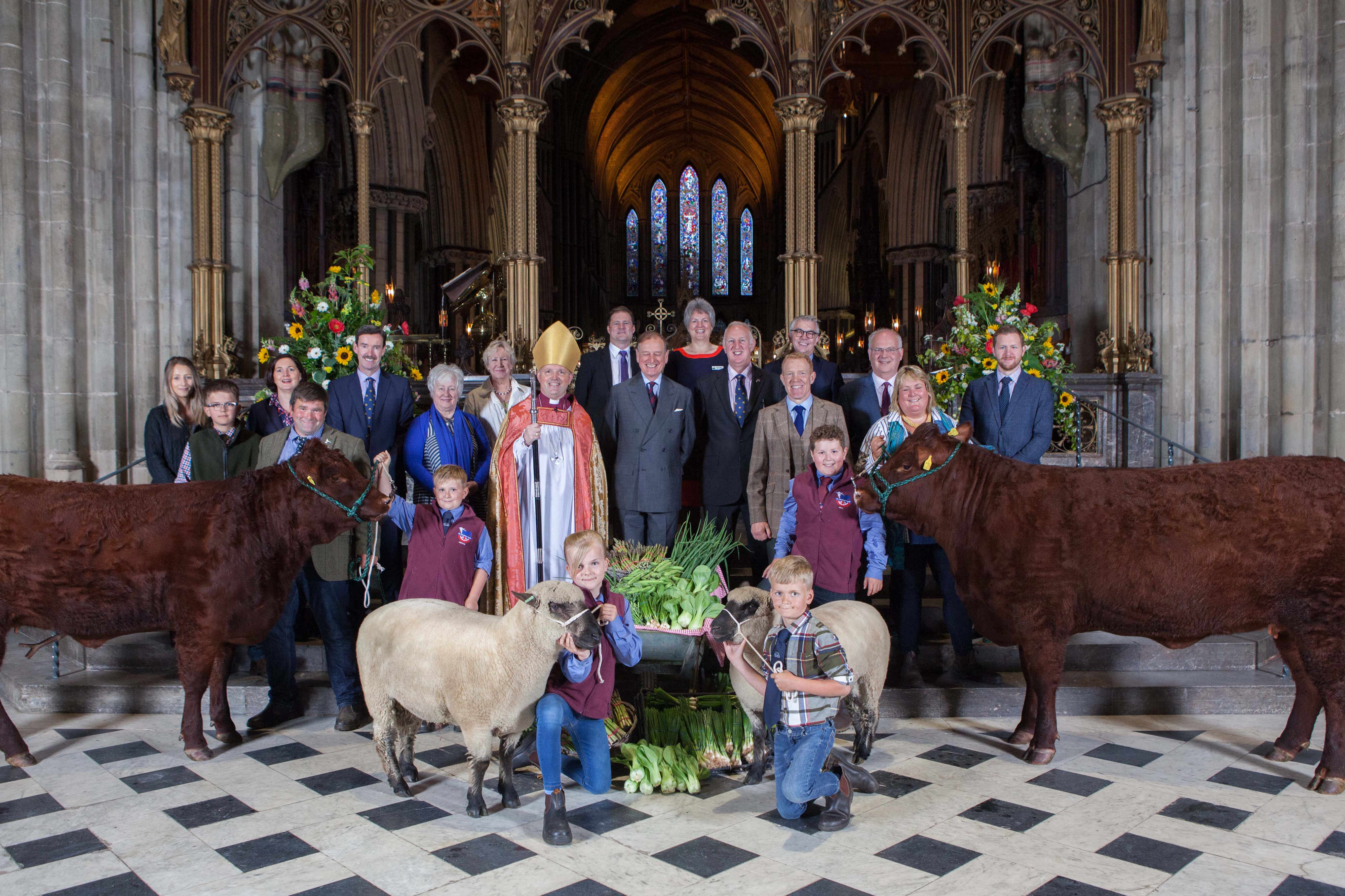 Royal Three Counties Show Launch at Worcester Cathedral - Group Shot.jpg