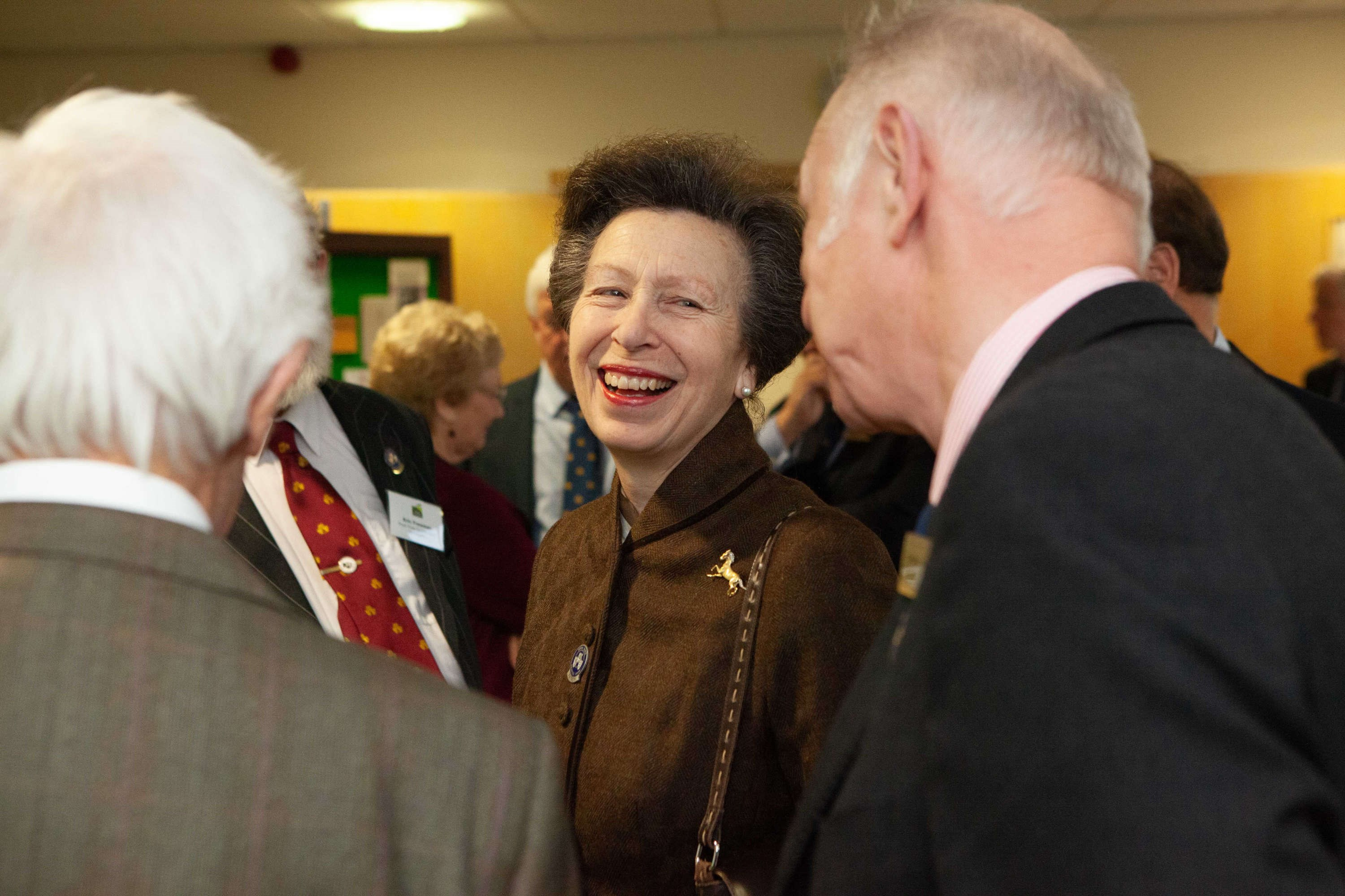 HRH The Princess Royal - Three Counties Showground December 2018.jpg